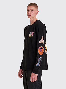 Stüssy Primordial World Long Sleeve T-shirt Black