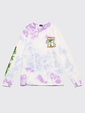Stüssy Unite Longsleeve T-shirt Tie Dye White