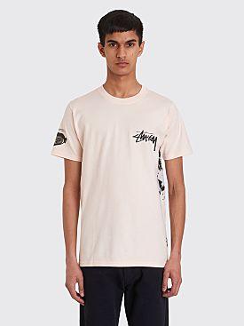 Stüssy Gallery T-shirt Pale Pink