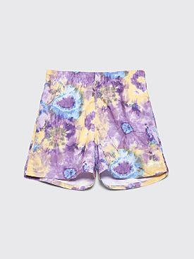 Stüssy Tie Dye Water Shorts Purple