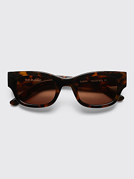 Sun Buddies Lubna Sunglasses Brown Tortoise