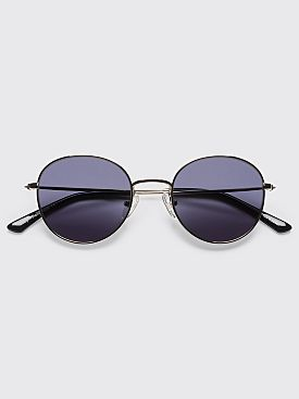 Sun Buddies Ozzy Sunglasses Silver Black