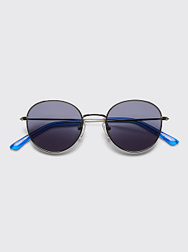 Sun Buddies Ozzy Sunglasses Silver / Silicon Valley Blue