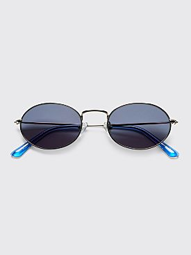 Sun Buddies Aaliyah Sunglasses Silver / Blue sky