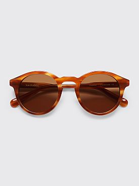 Sun Buddies Zinedine Sunglasses Brown Smoke