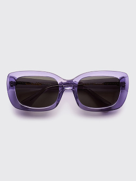 Sun Buddies x Eckhaus Latta Junior Sunglasses Eggplant