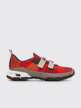 Prada Crossection Sneakers Scarlet Red