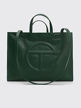 Telfar Large Shopping Bag Dark Olive