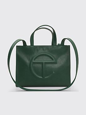 Telfar Medium Shopping Bag Dark Olive