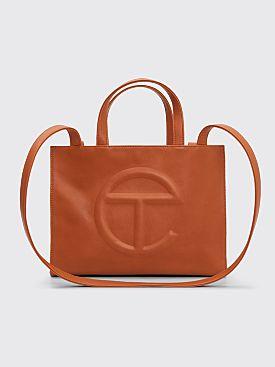 Telfar Medium Shopping Bag Tan