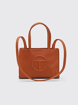 Telfar Small Shopping Bag Tan