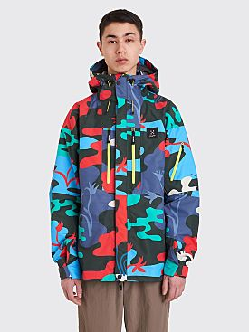 Très Bien x Haglöfs Helium Ripstop 3L Jacket The Valleys Camo