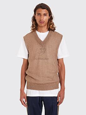 Très Bien Knit Vest Mohair Dusty Beige