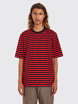 Très Bien Volume Tee Stripe Black / Red