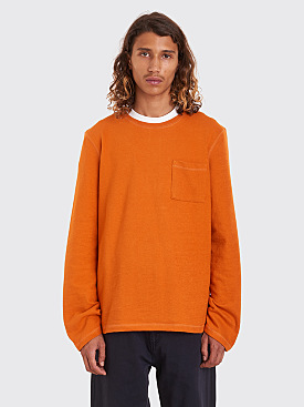 Très Bien Army Sweatshirt Overdye Burnt Orange