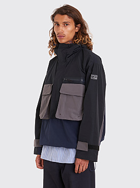 Très Bien Anorak Color Block Tech Navy