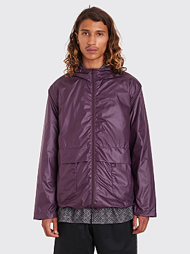 Très Bien Parka Simple Shine Tech Purple