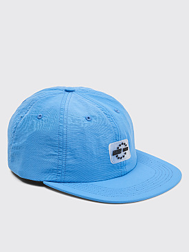 Très Bien 6 Panel Eurosport Hat Columbia Blue