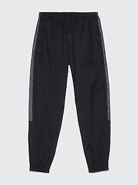 Très Bien Warm Up Trousers Jacquard Panel Black