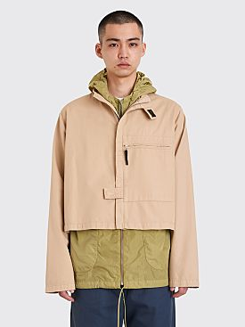 Très Bien Stand Collar Jacket Light Beige