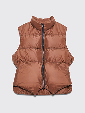 Très Bien x Crescent Down Works Gilet Brown