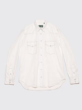 Très Bien x Gitman Bros. Western Style Shirt Ripstop White