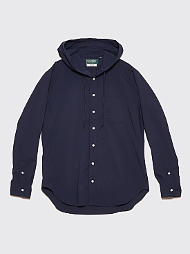 Très Bien x Gitman Bros. Hooded Shirt Ripstop Navy