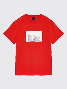 Très Bien Souvenir Treo Bien T-Shirt Red