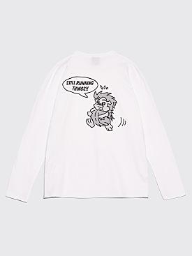 Très Bien Souvenir Anniversary LS T-Shirt White