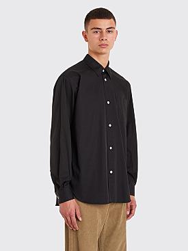 Très Bien Classic Shirt Pima Cotton Black