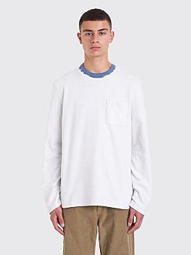 Très Bien Army Sweatshirt Overdye Pale Blue