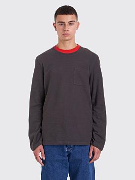 Très Bien Army Sweatshirt Overdye Espresso