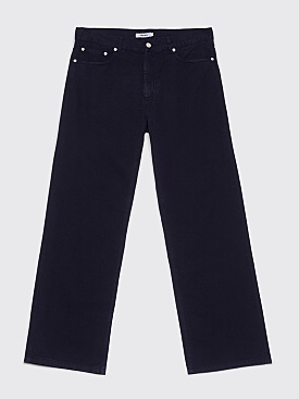Très Bien 5-Pocket Loose Fine Twill Dark Navy