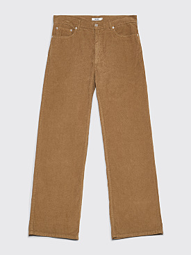 Très Bien 5-Pocket Loose Cord Pants Sage