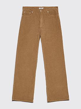 Très Bien 5-Pocket Loose Cord Pants Sage