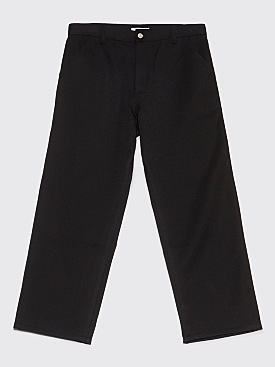 Très Bien Cropped Carpenter Pants Wool Black