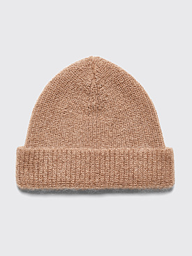 Très Bien Knit Hat Mohair Dusty Brown