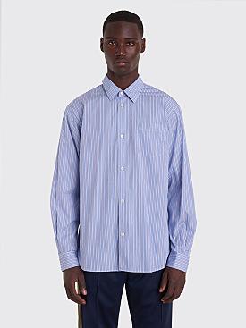 Très Bien Classic Shirt Big Stripe Blue / White