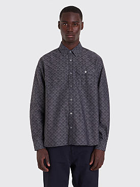 Très Bien Work Shirt Jacquard Black