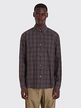 Très Bien Classic Shirt Melange Brown Check