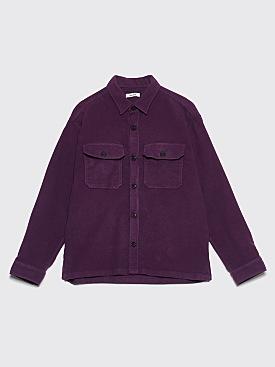 Très Bien Overshirt Moleskin Purple