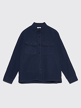Très Bien Overshirt Cotton Twill Deep Navy