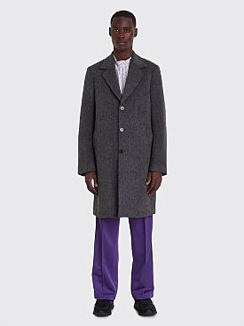 Très Bien Classic Coat Mohair Grey