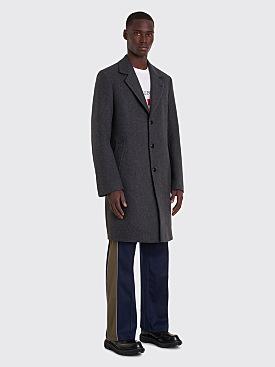 Très Bien Classic Coat Herringbone Grey