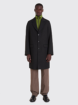 Très Bien Tailored Coat Wool Drill Black