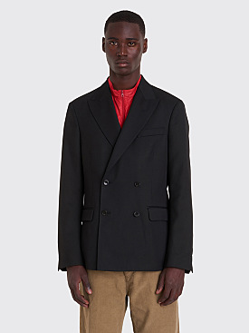 Très Bien Double Breasted Jacket Wool Black