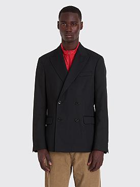 Très Bien Double Breasted Jacket Wool Black