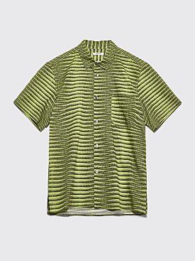 Très Bien Tourist Shirt Agassi Stripe Green