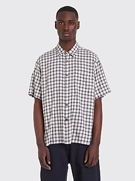 Très Bien Tourist Shirt Check White / Black