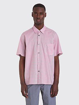 Très Bien Tourist Shirt Agassi Stripe Pink